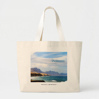 Fuerteventura, painting effect bags