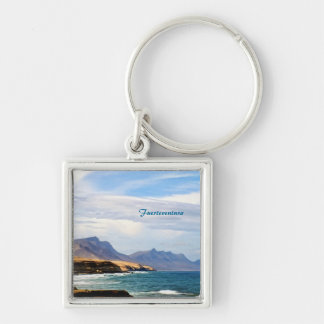 Fuerteventura, painting effect keychain