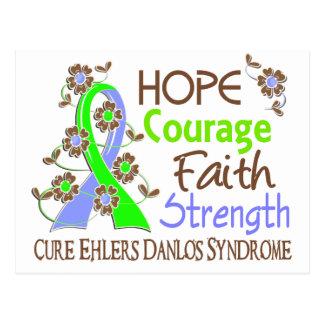 Fuerza 3 EDS de la fe del valor de la esperanza Postales