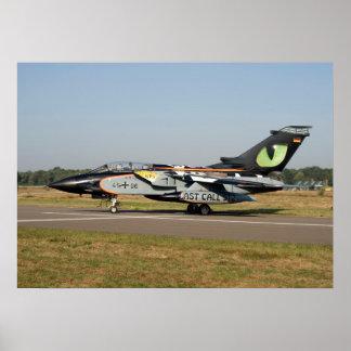 Fuerza aérea alemana NTM 2009 del tornado Poster