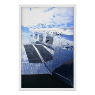 Fuerza aérea Beechcraft 18/C45 Póster