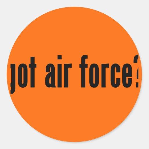 ¿fuerza aérea conseguida? pegatina