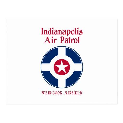 Fuerza aérea de Indianapolis Postales