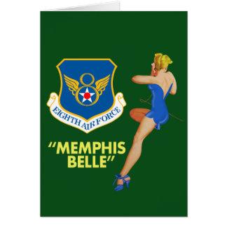 """""""Fuerza aérea de la belleza de Memphis 8va"""" Tarjeta De Felicitación"""