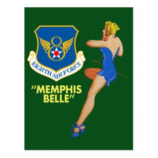 """""""Fuerza aérea de la belleza de Memphis 8va"""" Tarjetas Postales"""