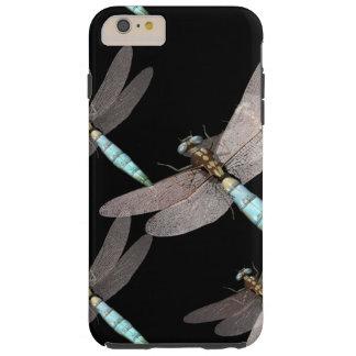 Fuerza aérea de la libélula en negro funda de iPhone 6 plus tough