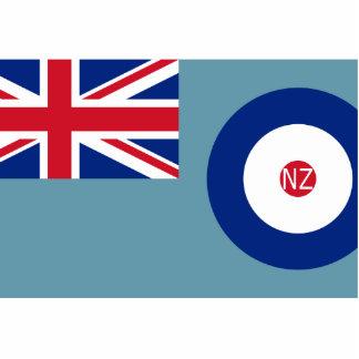 Fuerza aérea de Nueva Zelanda, bandera de Nueva Ze Esculturas Fotograficas