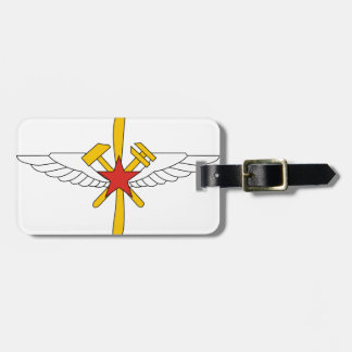 Fuerza aérea de URSS, insignias para los mecánicos Etiquetas Maletas