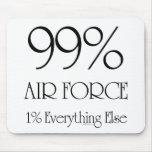 Fuerza aérea del 99% tapetes de ratón