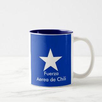 Fuerza aérea del chile, FuerzaAerea de Chili Taza De Dos Tonos