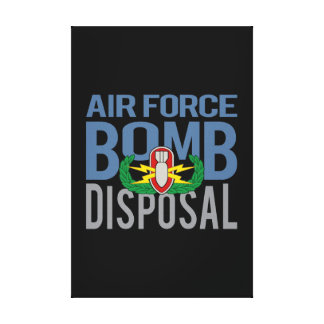 Fuerza aérea EOD Impresiones De Lienzo