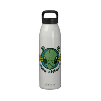 Fuerza aérea extranjera botella de agua reutilizable