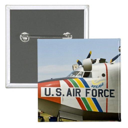 Fuerza aérea Grumman HU-16B de la sección de nariz Pin Cuadrada 5 Cm