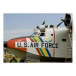 Fuerza aérea Grumman HU-16B de la sección de nariz Tarjeta De Felicitación