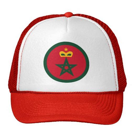 Fuerza aérea marroquí real Roundel Gorro De Camionero