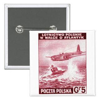 Fuerza aérea polaca de WWII Pin