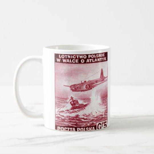 Fuerza aérea polaca de WWII Taza De Café