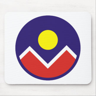 Fuerza aérea Roundel de Denver Tapetes De Ratones