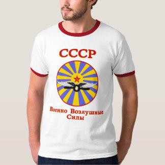 Fuerza aérea soviética remeras