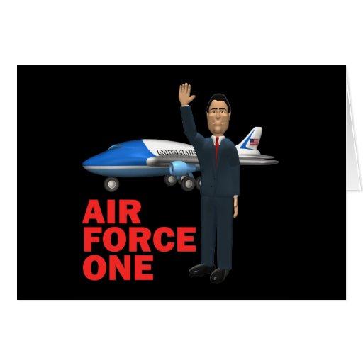 Fuerza aérea una tarjeta