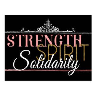 Fuerza, alcohol, solidaridad postal