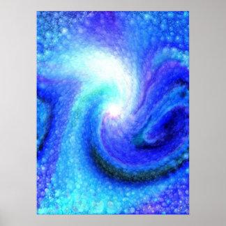 Fuerza azul póster