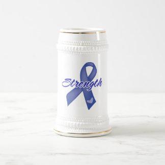 Fuerza - cáncer anal tazas
