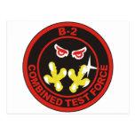 fuerza combinada b-2 de la prueba postal
