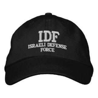 FUERZA DE DEFENSA ISRAELÍ DE LA CA GORRO BORDADO