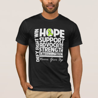 Fuerza de la ayuda de la esperanza del linfoma de playera