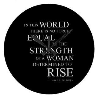 Fuerza de la cita de motivación inspirada de la reloj