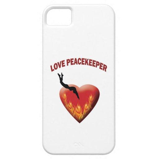 Fuerza de paz del amor iPhone 5 Case-Mate cárcasas
