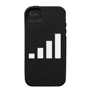 Fuerza de señal iPhone 4/4S carcasa
