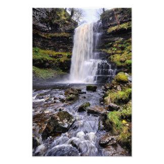 Fuerza de Uldale, Cumbria - impresión de la cascad Fotografía