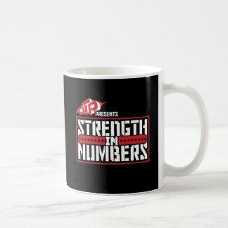 Fuerza del DTP en taza de los números