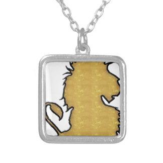 Fuerza del león colgante cuadrado