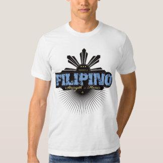 Fuerza filipina y Ho - azul Camisas