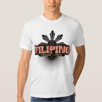 Fuerza filipina y Ho - rojo Remeras