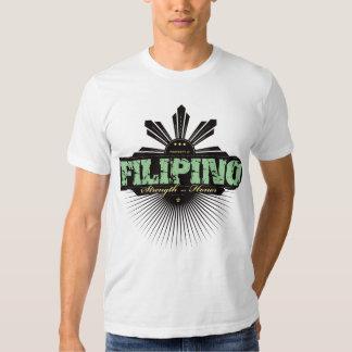 Fuerza filipina y Ho - verde Playeras
