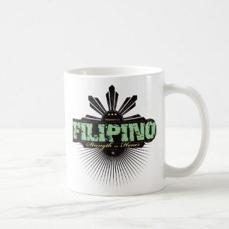 Fuerza filipina y Ho - verde Taza