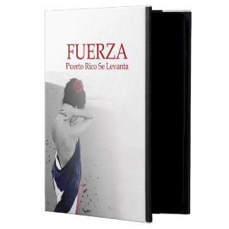 Fuerza - image with text powis iPad air 2 case