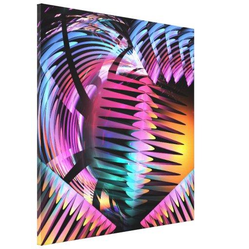 Fuerza interna, wallart abstracto artístico del fr lienzo envuelto para galerias