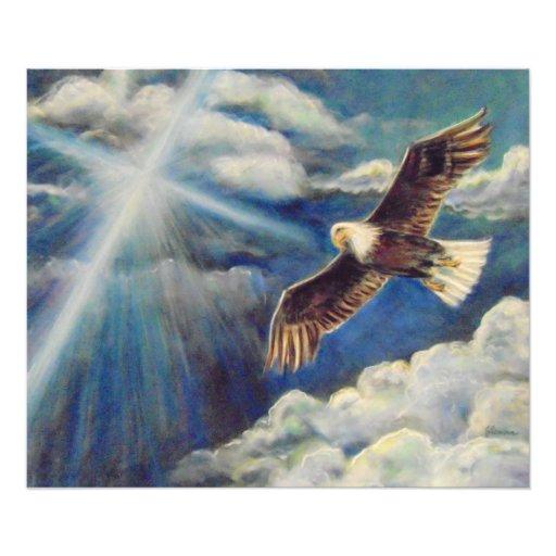 Fuerza renovada: Alas de Eagle Impresiones Fotográficas