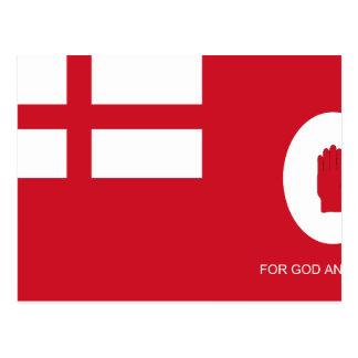 Fuerza voluntaria leal bandera de Colombia Tarjeta Postal