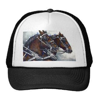 Fuerza y gloria - caballos de Percheron Gorra