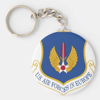 Fuerzas aéreas de Estados Unidos en el emblema de Llaveros