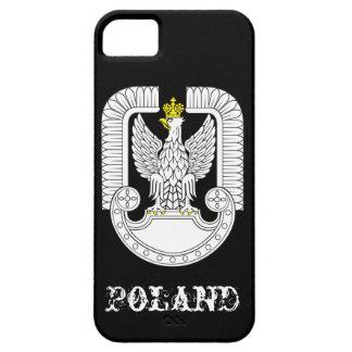 Fuerzas aéreas de Polonia iPhone 5 Case-Mate Carcasa