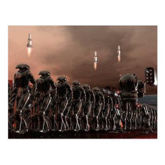 fuerzas reactivadas tarjetas postales