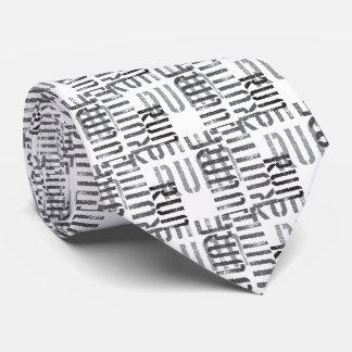 Fugado para los corredores corbata personalizada