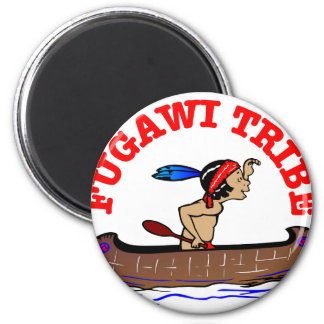 Fugawi Tribe 2 Inch Round Magnet